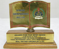 Ratna Sagar - Awards for the best book published in English Book-III