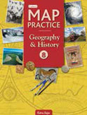 2-Colour Map Practice Geography History 6 to 8